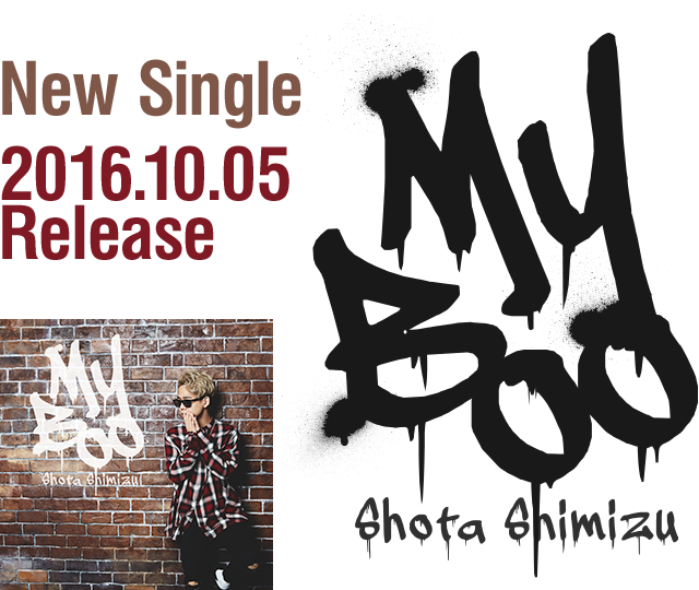 New Single「My Boo」2016.10.05 Release