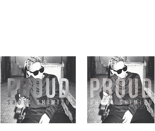 NEW ALBUM「PROUD」3.30 RELEASE